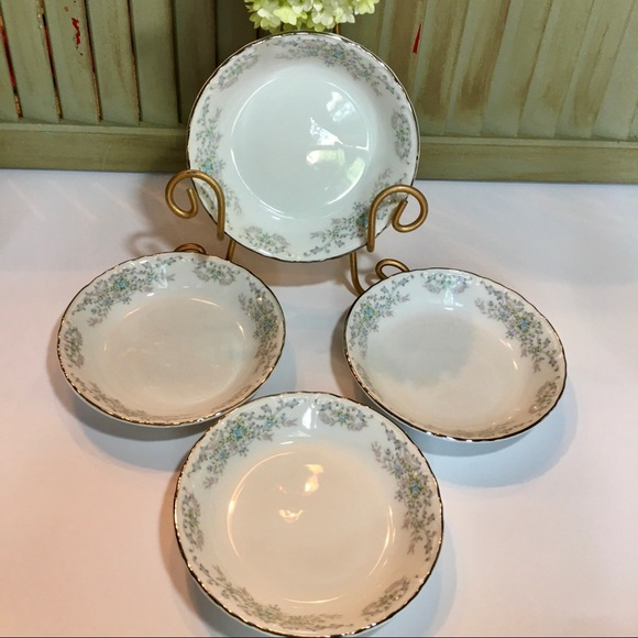 Vintage Other - Norleans China Theresa Fruit Dessert Bowl Set of 4